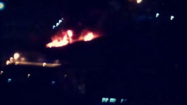 Пожар в Одинцово