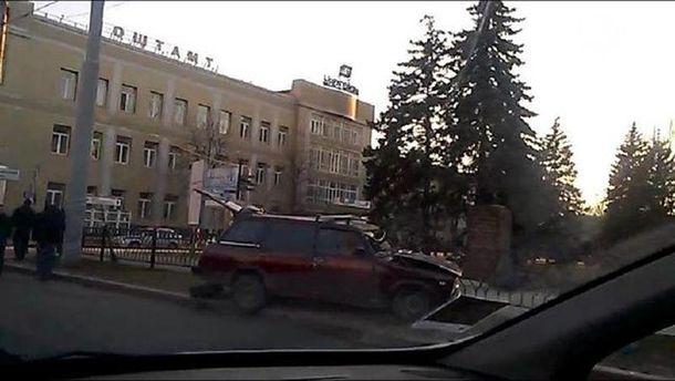 Аварія у Донецьку