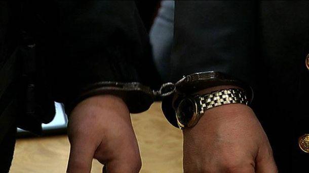 Бочковський у наручниках