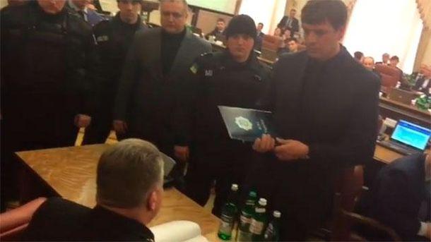 Затримання голови ДСНС Сергія Бочковського
