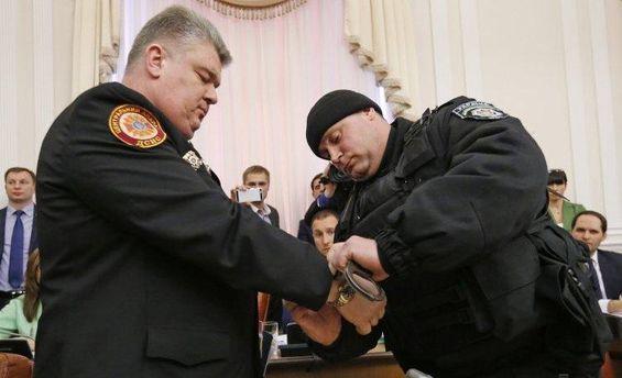 Затримання Бочковського
