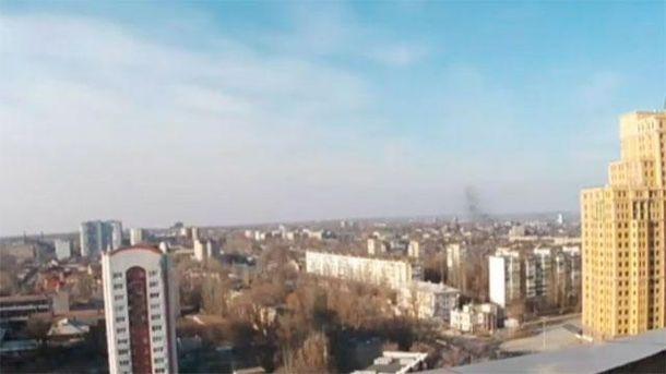 Небо над Донецьком
