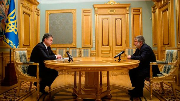 Петро Порошенко та Ігор Коломойський