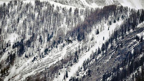 Поисковая операция в Альпах