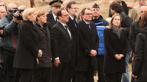 Ангела Меркель, Франсуа Олланд і Маріано Рахой