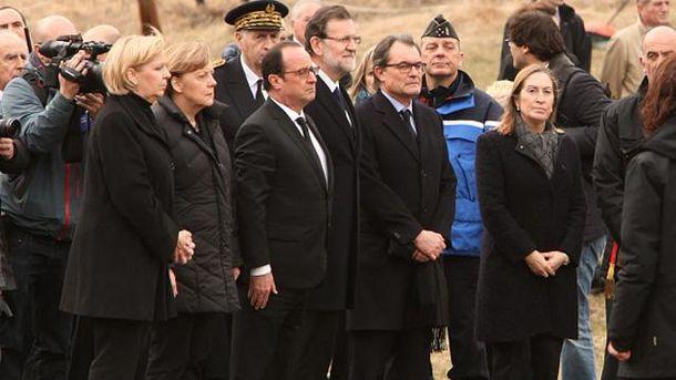 Ангела Меркель, Франсуа Олланд и Мариано Рахой