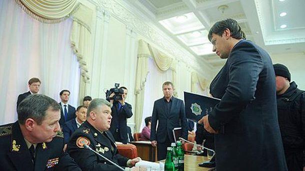 Арест высокопоставленных чиновников