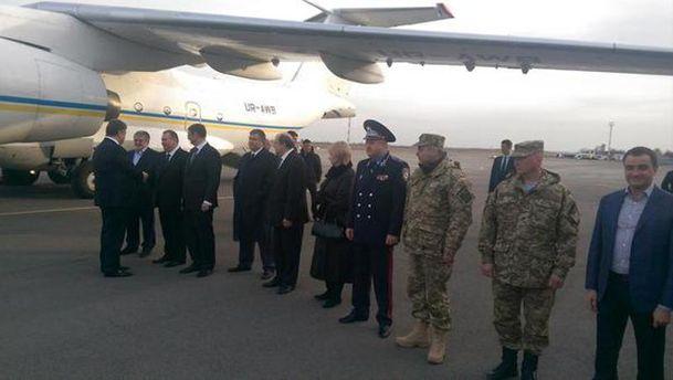 Порошенко прибыл в Днепропетровск