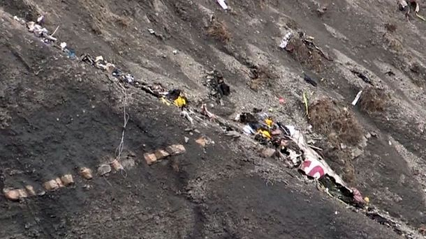 Обломки Airbus A320