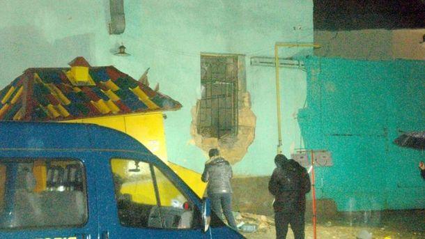 На місці вибуху в Одесі