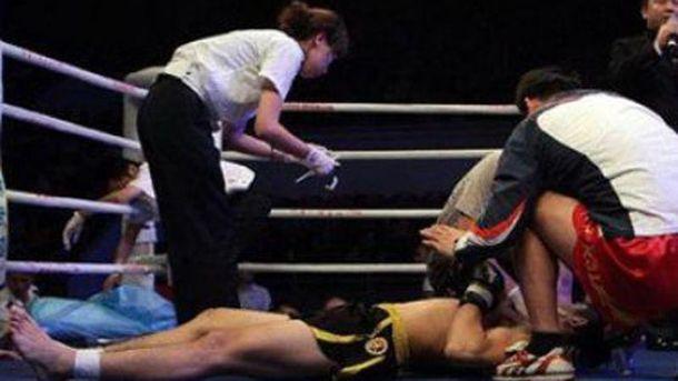 Боєць на рингу