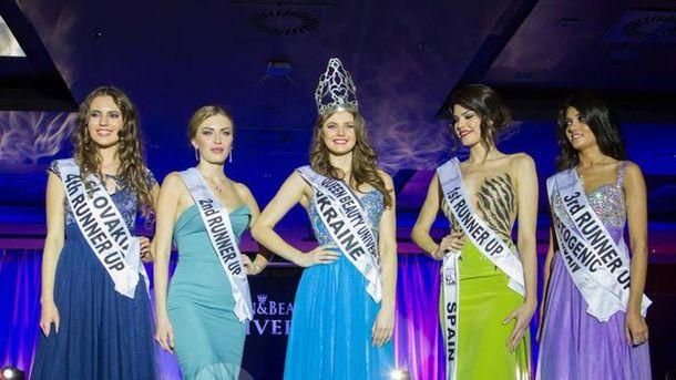 Перможниці Queen of Beauty Universe 2015