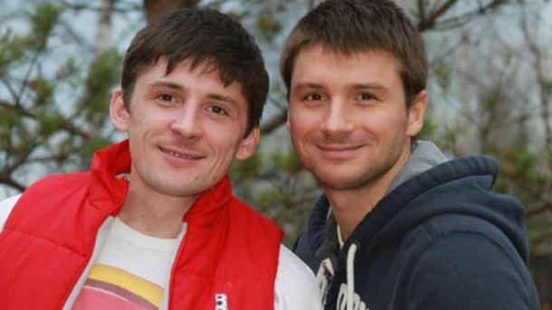 Сергій Лазарєв з братом