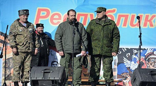 Александр Ходаковский — у микрофона