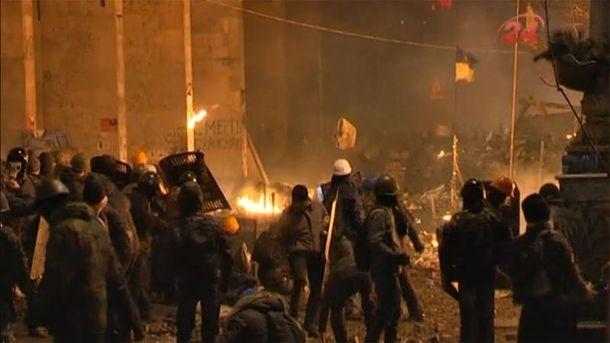 Противостояние на Майдане