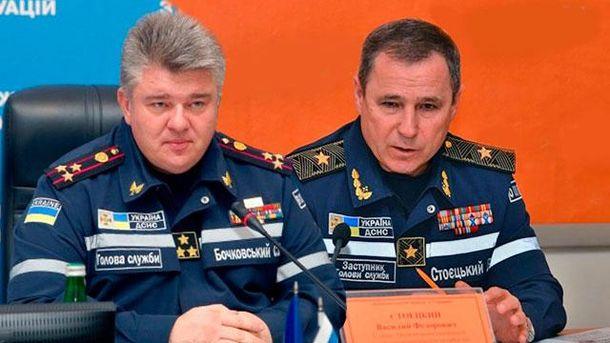 Сергій Бочковський та Василь Стоєцький