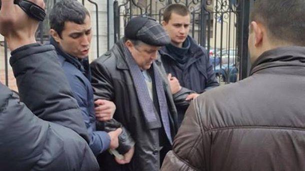 Задержание мэра Люботина