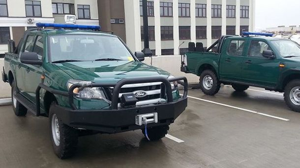 Ford Ranger, которые передали США Украина