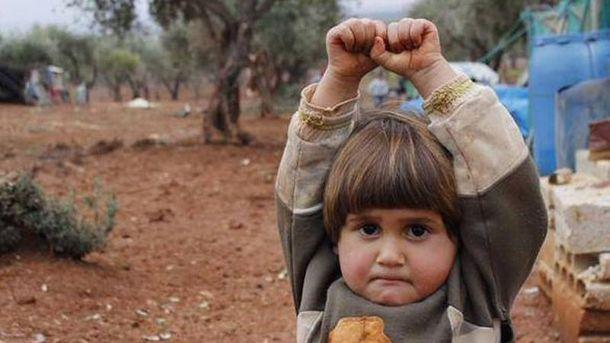 Сирийская девочка
