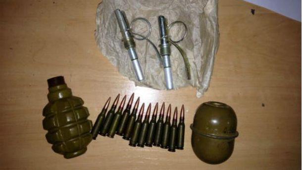Изъятые гранаты
