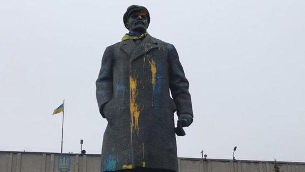 Пам'ятник Леніну у Слов'янську