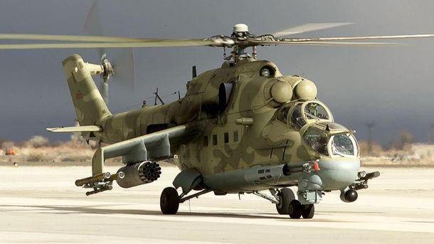 Вертолет Ми-24
