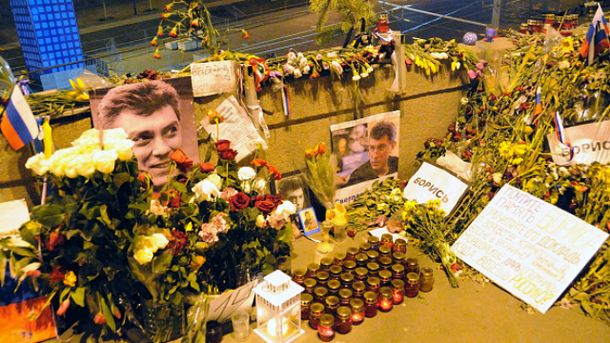 У Москві люди вшановують пам'ять Нємцова