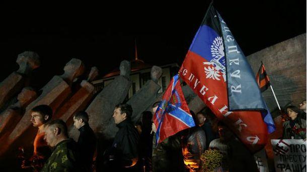 Сепаратисты на Донбассе