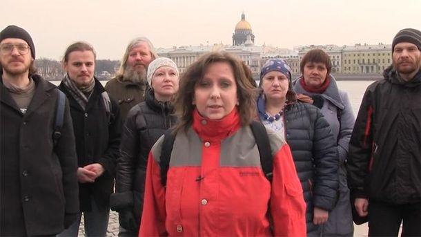 Мешканці Санкт-Петербурга