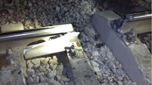 Прогримів вибух на залізниці