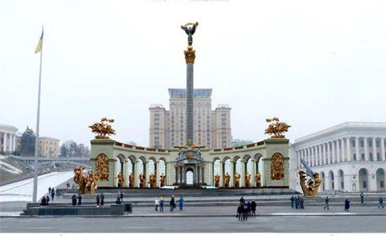 От ангела с крестом до световой  инсталляции: каким станет Майдан