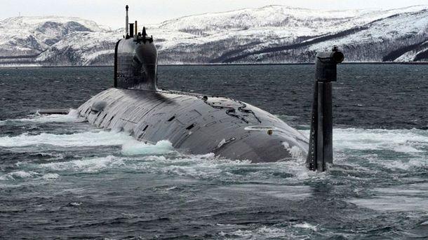 В России загорелась атомная подводная лодка