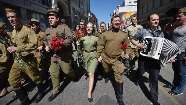 Святкування 9 травня у Москві