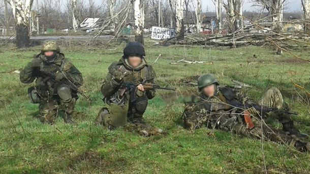 Бойцы батальона