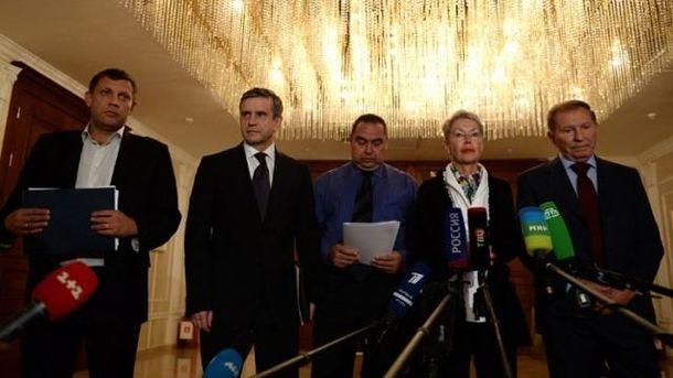 Тристороння контактна група і лідери бойовиків