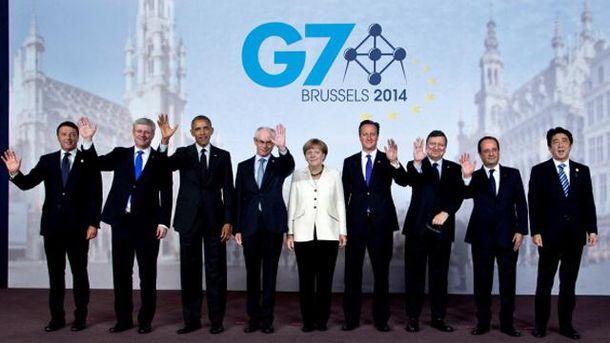 Лидеры G7 и Евросоюза