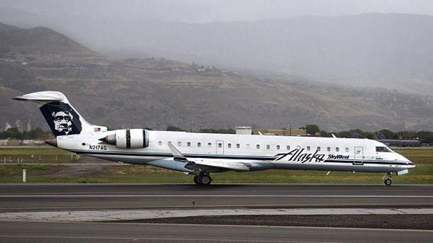 Самолет Alaska Airlines