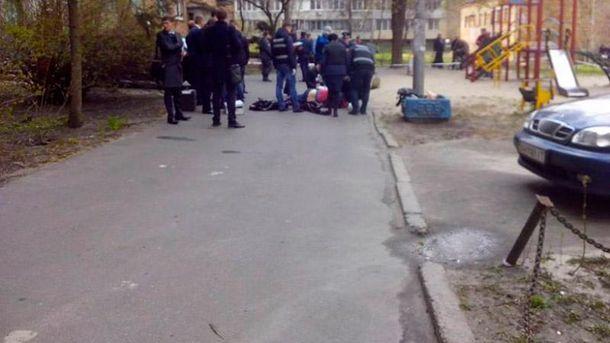 Місце вбивства Олеся Бузини