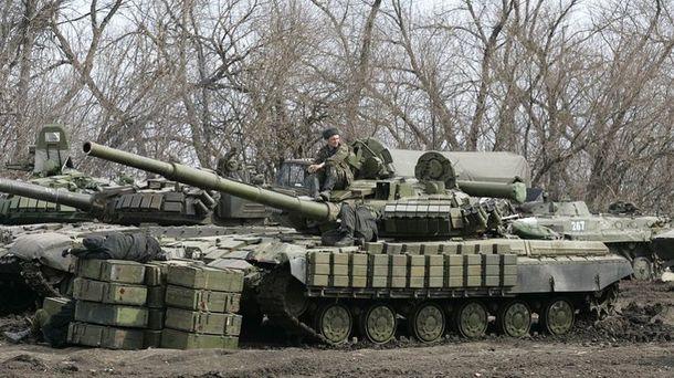 Военная техника боевиков