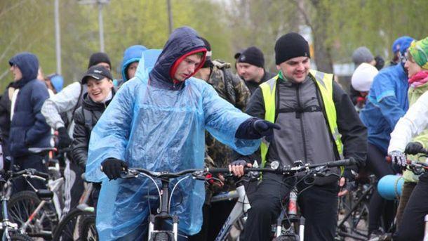 Велопробег в Запорожье