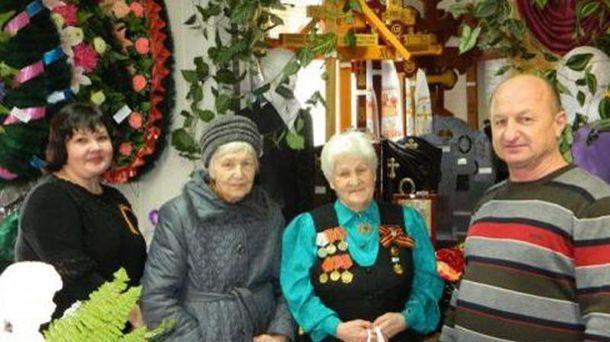 Ветеранов пригласили в похоронное бюро