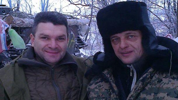 Владимир Голоднюк с бойцом