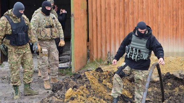СБУ ликвидировала контрабандный нефтепровод