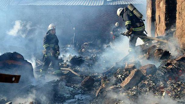 Пожежа на Миколаївщині
