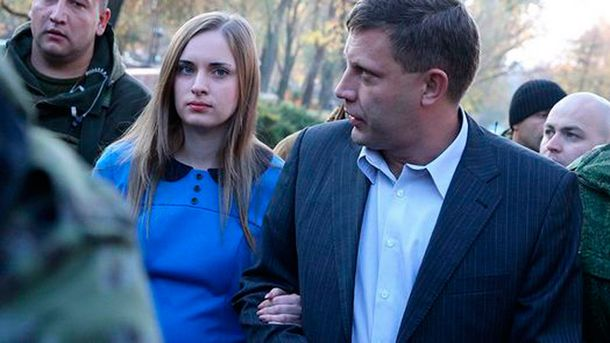 Александр Захарченко с супругой Натальей
