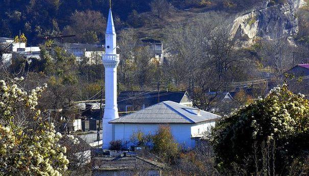 Мечеть в Скалистом
