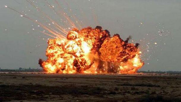 Взрыв боеприпасов