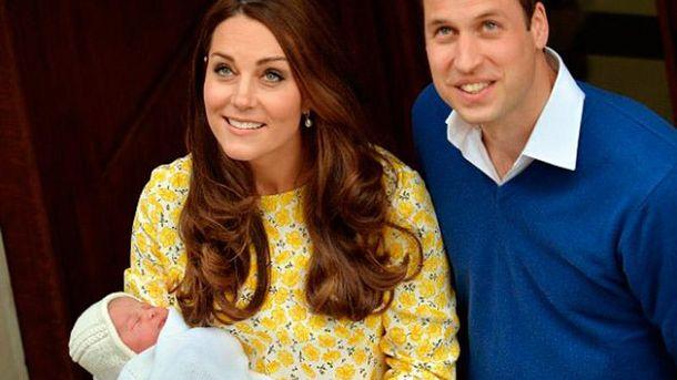 Королевская семья с дочерью