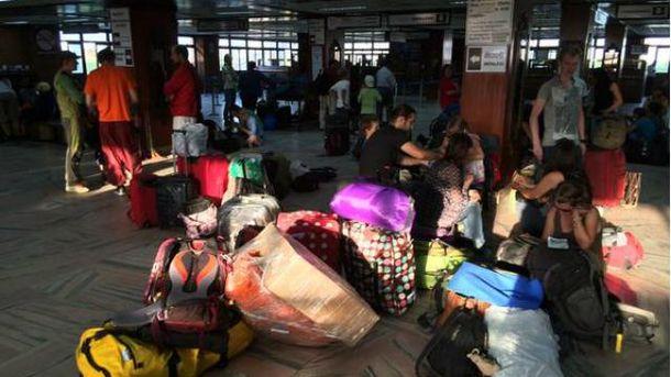 Эвакуация из Непала