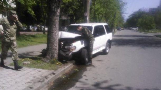 Аварія за участю військового